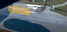 Получен первый в РФ патент на метод расчёта массы нефти на дне водоема