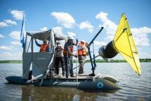 Биологи будут использовать «Аэрощуп» для очистки водоёмов от пластика