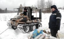 Впервые в РФ дно водотока очистят от нефти с помощью зимней технологии